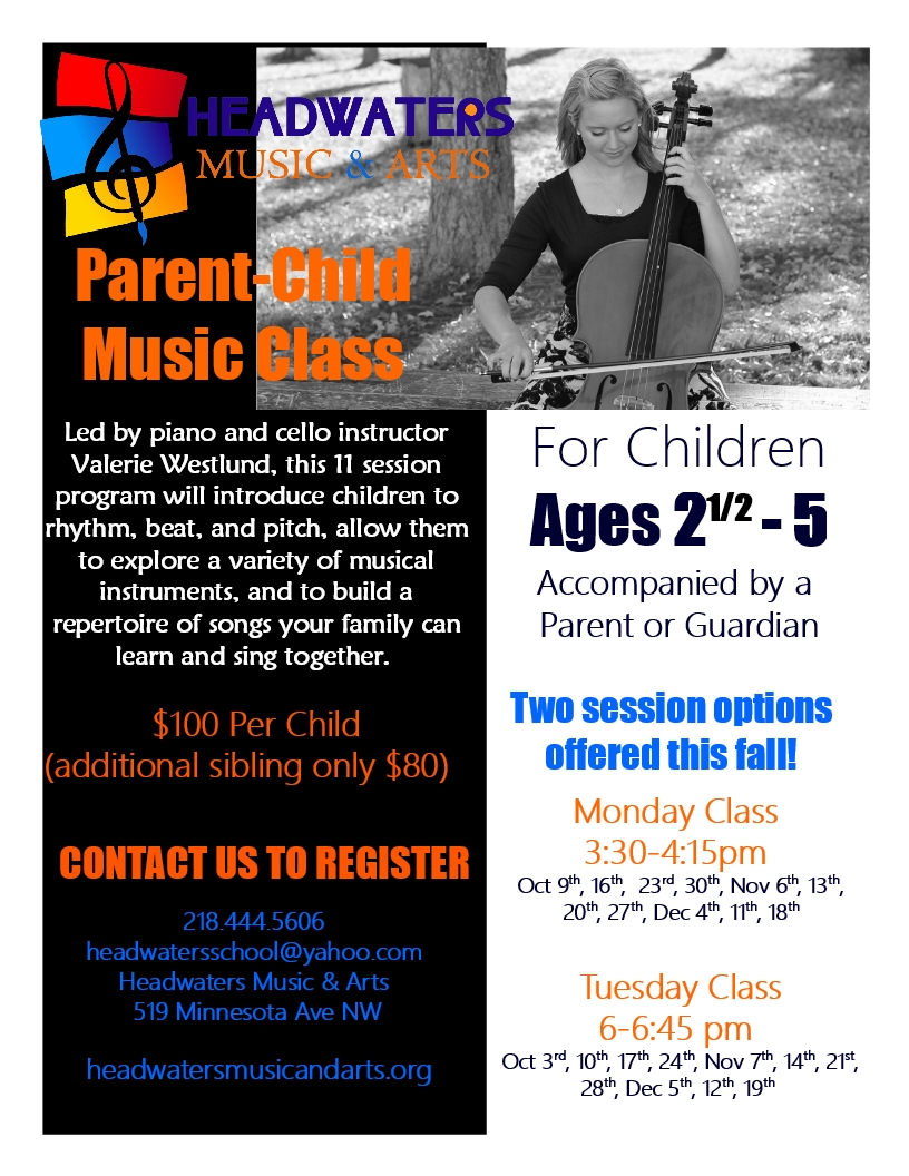 Headwaters Parent-Child Music Class • Headwaters Music & Arts