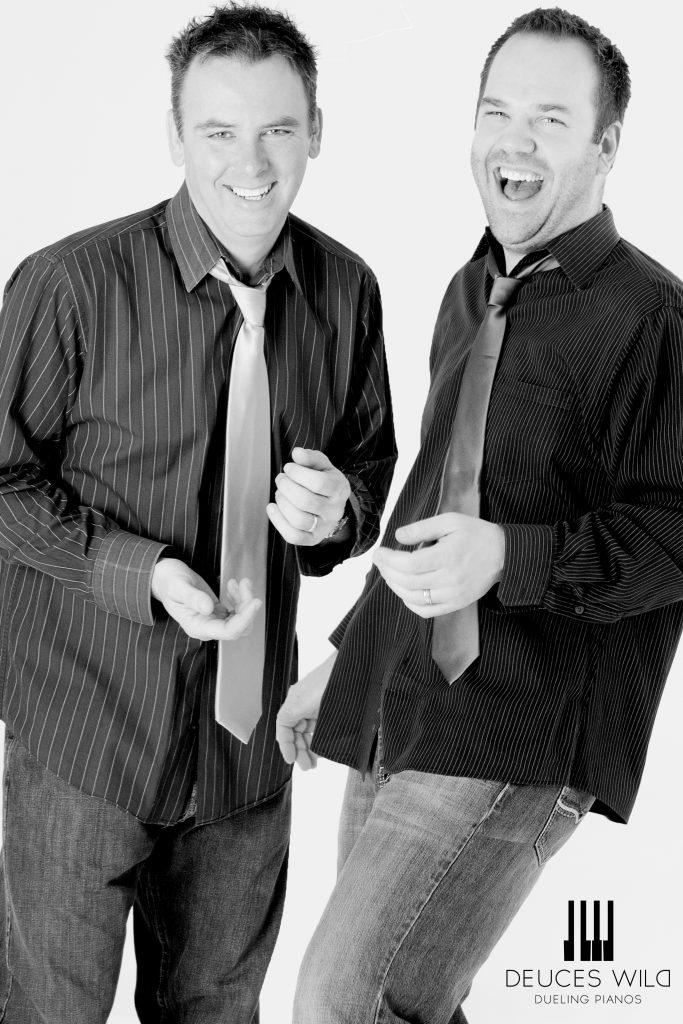 Deuces Wild! Dueling Pianos  meet-&-greet with David Eichholz & Ted Manderfeld @ Sanford Center | Bemidji | Minnesota | United States