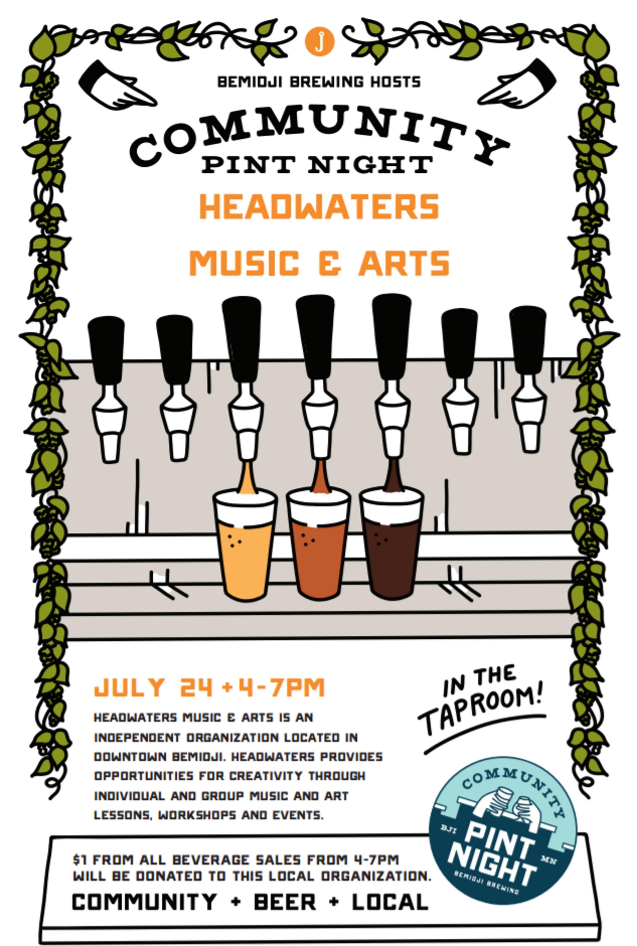 Community Pint Night @ Bemidji Brewing | Bemidji | Minnesota | United States